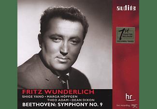 Shige Yano, Marga Höffgen, Fritz Wunderlich, Theo Adam, Wunderlich/SOHR/Dixon - Sinfonie 9  - (CD)