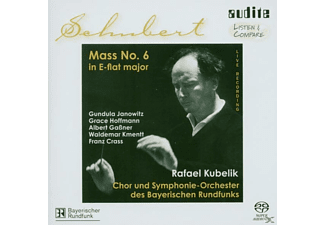 VARIOUS, Kubelik, Janowitz, Kmentt, Brf, R./SOBR/RF-Chor Des BR Kubelik - Messe 6 In Es-Dur,D 950  - (SACD Hybrid)