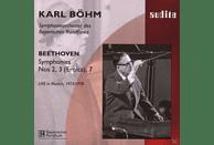 Sobr, Karl/sobr Böhm - Sinfonien 2, 3,& 7 [CD]