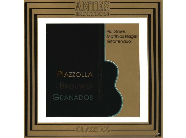 Pia Gress, Matthias Kläger, Grees/Kläger - Piazzolla Brouwer Granados [CD]