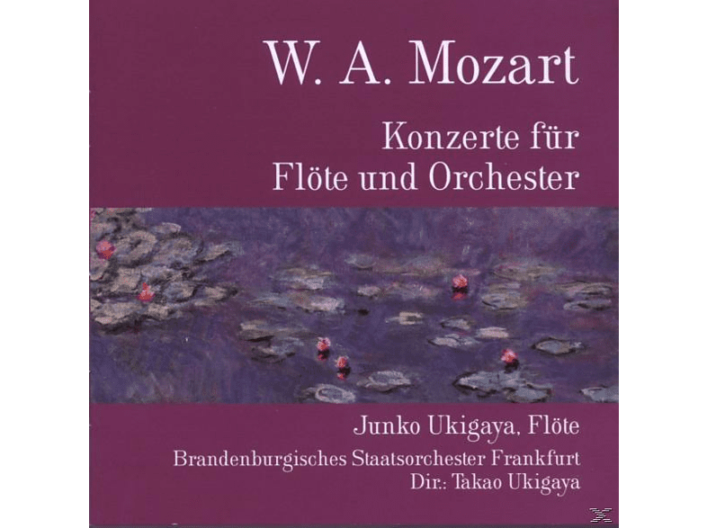 Junko Ukigaya - Konzerte Für Flöte Und Orchester [CD]