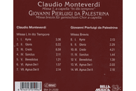 Gemischter Chor A Capella - Monteverdi/Palestrina Messen [CD]
