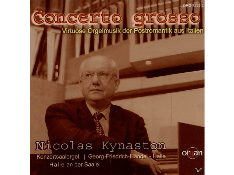 Nicolas Kynaston - Concerto Grosso [CD]