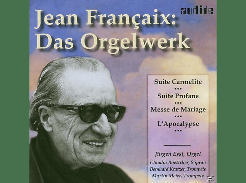 Böttcher, Kratzer, J. Essl, Essl,J./Kratzer,B./Boettcher,C./Maier,M. - Das Orgelwerk [CD]
