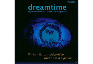 LIESKE,WULFIN & BARTON,WILLIAM - Dreamtime-Improvisationen For Guitar and Didgeridoo  - (CD)