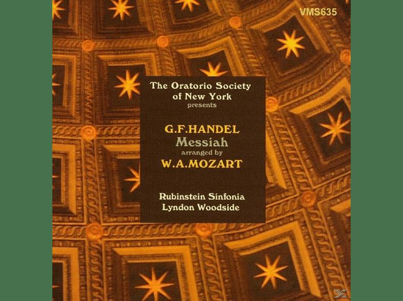 Sinfonia Rubinstein - Messiah (Arr.Mozart) [CD]