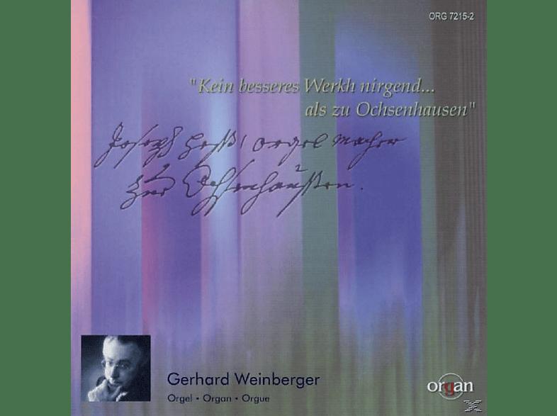 Weinberger Gerhard - Gabler Orgel Ochsenhausen [CD]