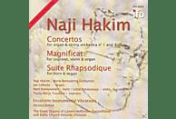 Ensemble Vibrations, Naji Hakim - Orgelkonzerte 1 und 3 [CD]