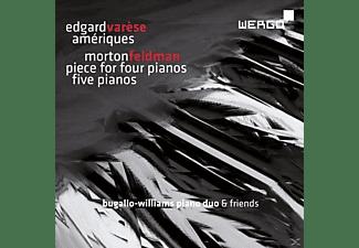 Williams Piano Duo - Ameriques/Piece For Four Pianos/Five Pia  - (CD)