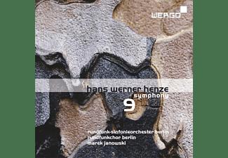 Rundfunk Sinfonieorchester  & Rundfunkchor Berlin - Hans Werner Henze: Sinfonie Nr. 9  - (CD)