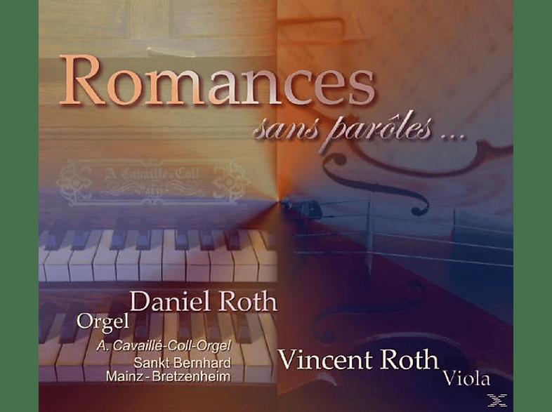 ROTH,DANIEL & ROTH,VINCENT - ROMANCES SANS PAROLES [CD]