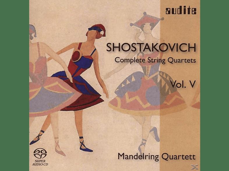 Melring Quartett, Mandelring Quartett - Streichquartette 11,13,15 [SACD Hybrid]