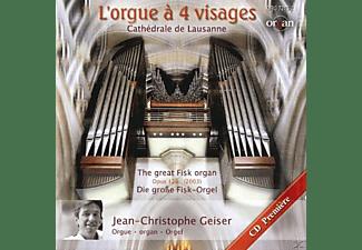 Jean-christophe Geiser - L'orgue à 4 visages  - (CD)