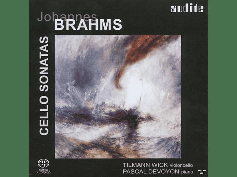 Pascal Devoyon, Tilmann Wick, T. Wick - Cellosonaten 1 & 2 [SACD Hybrid]
