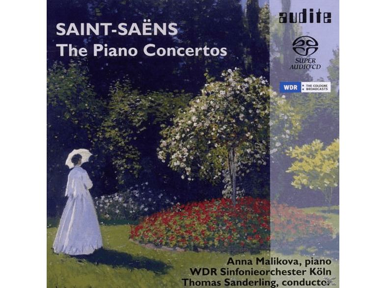 Anna Malikova, Malikowa,Anna/WDR SO/Sanderling,Thomas - Saint-Saens:Klavierkonzerte 1-5 [SACD Hybrid]