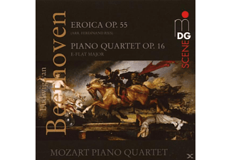 Mozart Piano Quartett, Mozart Piano Quartet - Eroica Op.55/Klavierquartett Op.16  - (CD)