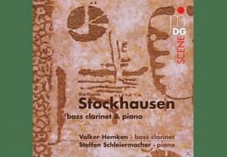 Volker Hemken - Klavierstücke/Tierkreis/Luzefa  - (CD)