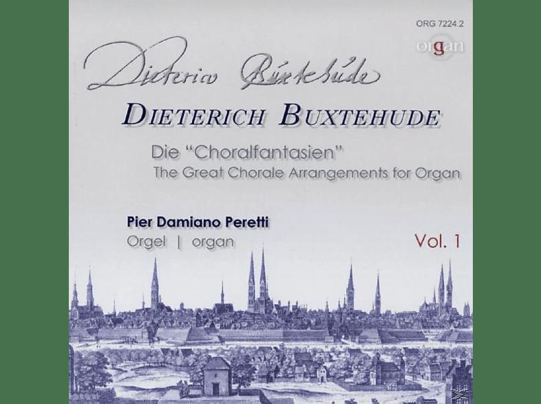 """Peretti Damiano Pier - Die """"Choralfantasien"""" [CD]"""