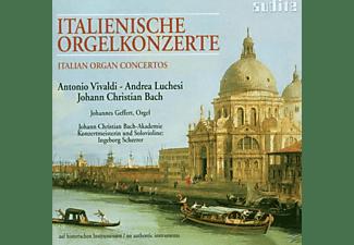 Johannes Geffert, Scheerer,I./Geffert,J./+/Jcbachakad - Italienische Orgelkonzerte  - (CD)
