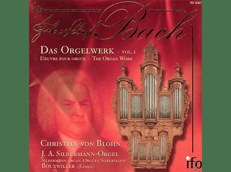 Christian Von Blohn, J.A. Silbermann - Das Orgelwerk Vol.1 [CD]