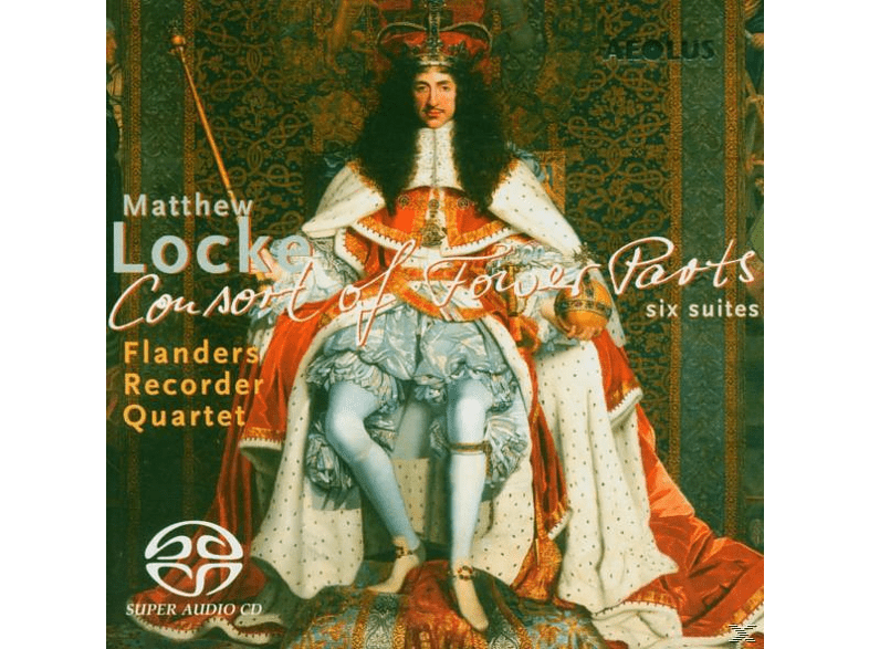 Flanders Recorder Quartet - Consort Of Fower Parts [SACD Hybrid]