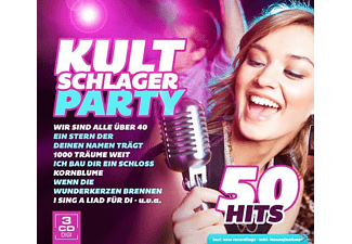 VARIOUS - Kultschlagerparty - 50 Hits  - (CD)