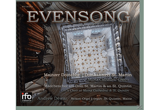 Andrew/mainzer Domchor Dewar - Evensong - (CD)