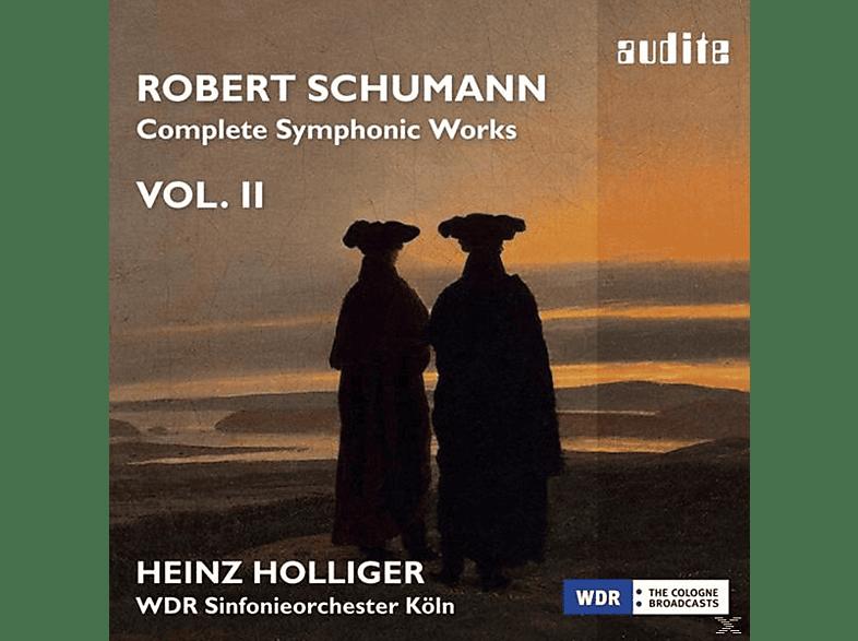 Heinz/wdr Sinfonieorchester Köln (krso) Holliger - Complete Symphonic Works Vol.2 [CD]