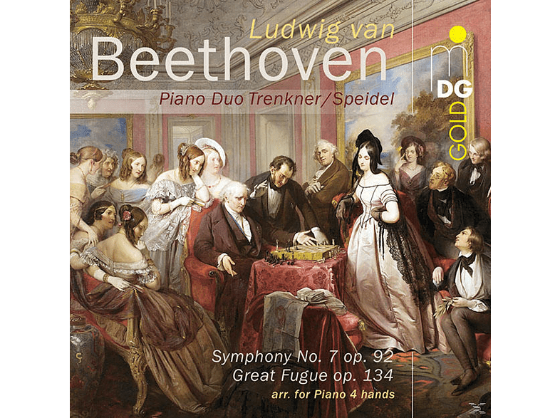 Pianoduo Trenkner / Speidel - Sinfonie 7/Great Fugue [SACD Hybrid]