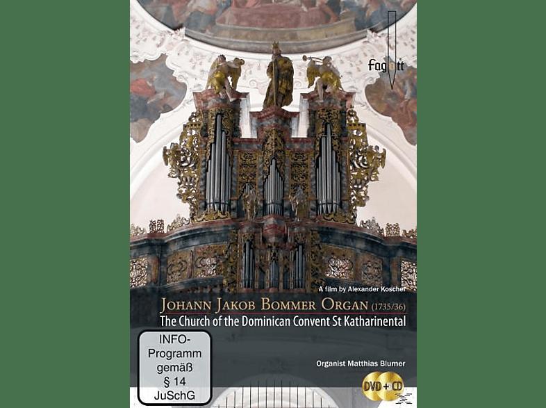 Matthias Blumer - Bommer Orgel St.Katharinental [DVD + CD]