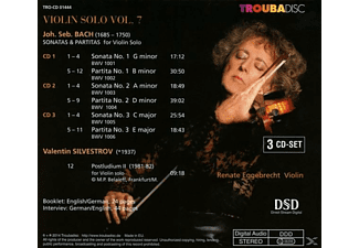 Renate Eggebrecht - Violin Solo vol.7: Sonaten und Partiten  - (CD)