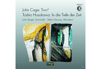 BERGER, JULIUS/HUSSONG, STEFAN - In Die Tiefe Der Zeit/Two 4  - (CD)