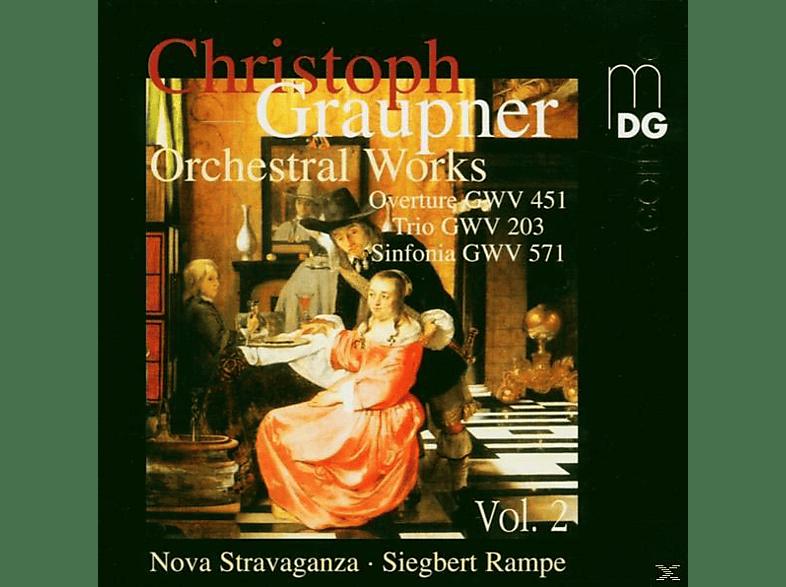 Rampe, Siegbert, Nova Stravaganza, S. & NOVA STRAVAGANZA Rampe - Orchesterwerke Vol.2 [CD]