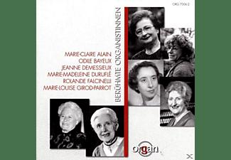 Alain, Bayeux, Durufle, Bayeux/Demessieux/Alain/Falcinelli/+ - Berühmte Organistinnen  - (CD)
