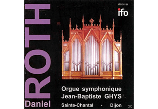 Roth Daniel - Orgue Symphonique Jean-Baptiste GHYS - (CD)