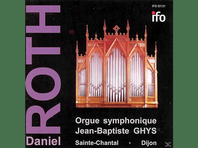 Roth Daniel - Orgue Symphonique Jean-Baptiste GHYS [CD]