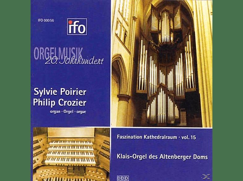 POIRIER, SYLVIE/CROZIER, PHILIP, Sylvie Poirier - Orgelmusik des 20.Jh. [CD]