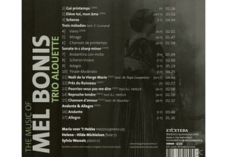 Trio Alouette - The Music Of Mel Bonis  - (CD)