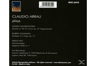 Claudio Arrau - Claudio Arrau spielt  - (CD)