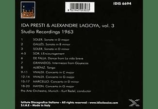 Presti,Ida/Lagoya,Alexandre - Presti und Lagoya,vol.3  - (CD)