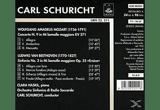 Radio Sinfonie Clara Haskill Piano - Clara Haskil und Carl Schuricht  - (CD)