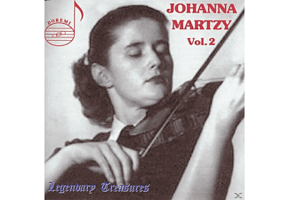Radio Svizzera Italiana Johanna Martzy (violine), Radio Svizzera Italiano Orchestra - Martzy Vol.2 Beethoven / Mozart  - (CD)