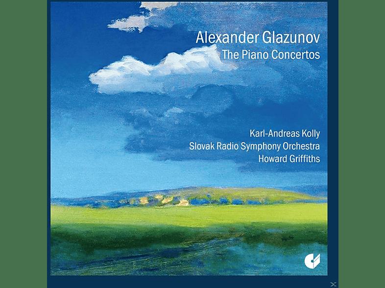 Karl-andreas Kolly, Slovak Radio Symphony Orchestra - The Piano Concertos [CD]