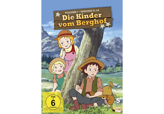 Die Kinder vom Berghof Vol. 1 - (DVD)
