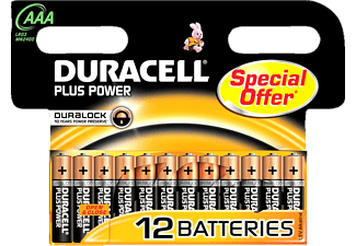 DURACELL Plus Power AAA 12-pack - Batterier