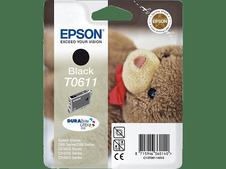 EPSON T0611 Zwart (C13T06114020)
