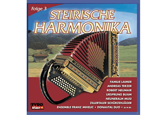 VARIOUS - Steirische Harmonika - Folge 3  - (CD)
