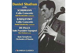 Daniel Shafran, Nina Musinyan, State Orchestra Of Russia - Cello-Rezital-Konzert F.Cello & Orch.Op.129/+ - (CD)