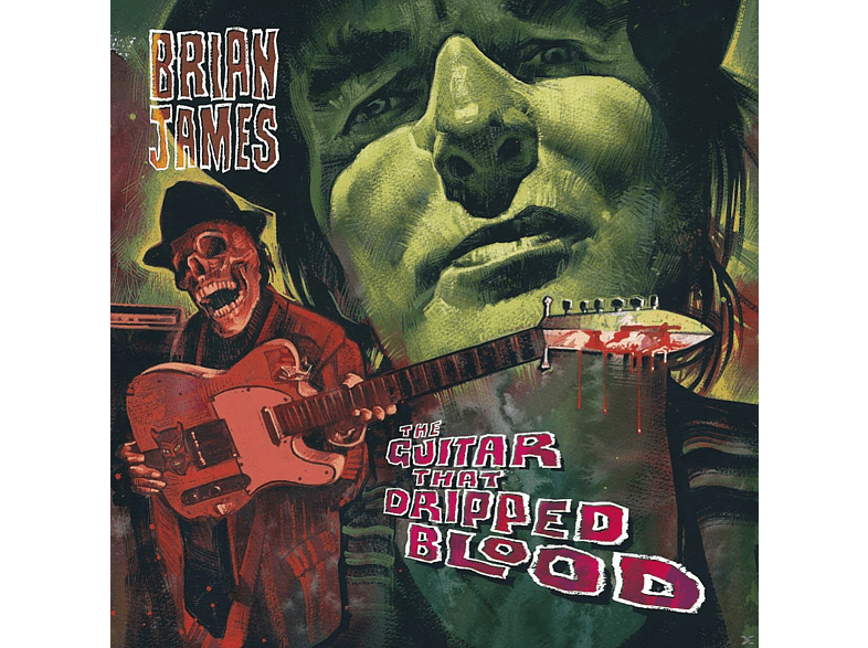 Brian James - The Guitar That Dripped Blood [CD]
