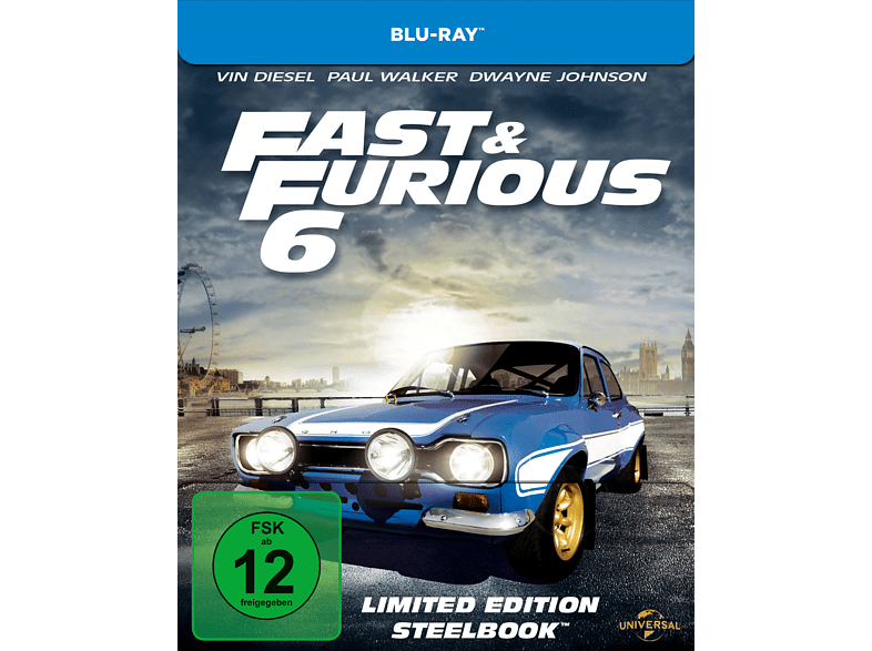 Fast & Furious 6 (Steelbook Edition / Media Markt Exklusiv) [Blu-ray]